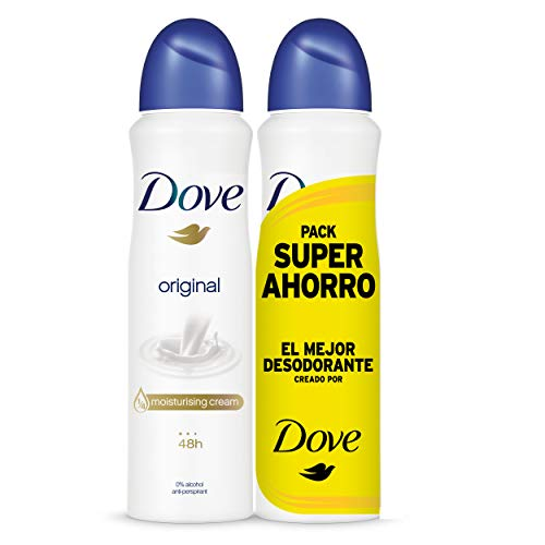 Dove - Pack Ahorro Desodorante Original, 200 ml