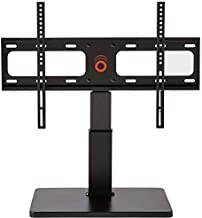 """ECHOGEAR Universal TV Swivel Stand for 32"""" to 60"""" TVs up to 27 kg - 75º of Swivel and 4"""" of Height Adjust - Improves TV Stability and Safety - EGTV1-B2"""