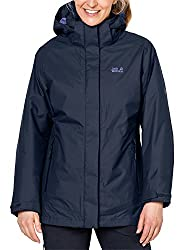Jack Wolfskin Damen Arborg 3-in-1 Jacke, Midnight Blue, L