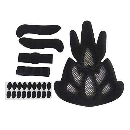 Amagogo Kits de Acolchado para Casco Almohadillas de Espuma de Repuesto - Forma de Llama
