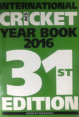ACS International Cricket Year Book 2016