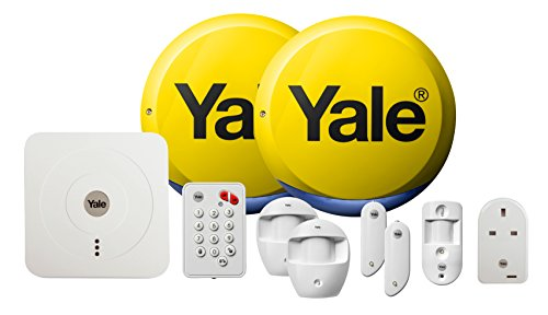 Yale SR-340 Smart Living Home Alarm, View & Control Kit Part Arming...