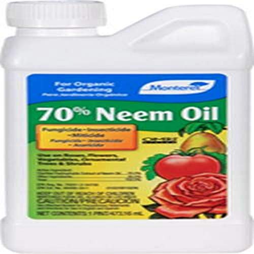 Find Cheap Monterey LG6140 70% Neem Oil 16 Ounce, Clear