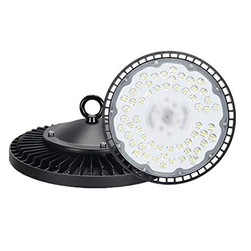 LED High Bay Light 100W, 14,000lm 5000K Daylight (400W...