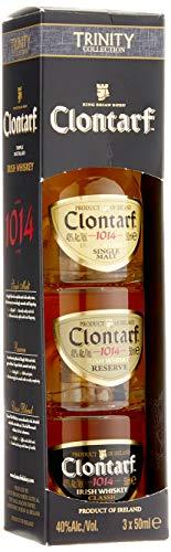 Clontarf Irish Whisky Mini Trinity (1 x 0,50 ml)