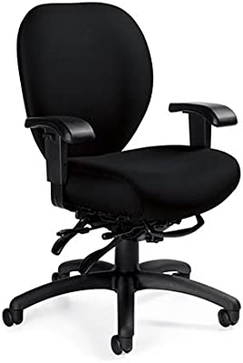 Amazon.com: Steelcase Amia - Silla (piel), color negro ...