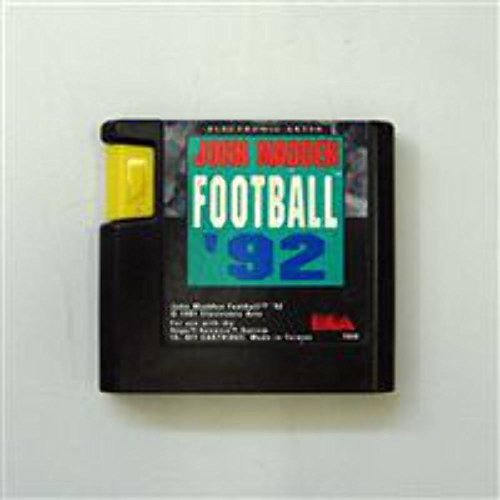 John Madden Football 92 - MegaDrive - PAL