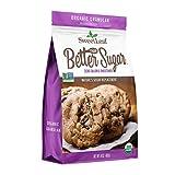 SweetLeaf Organic Better Than Sugar! Stevia Blend for Baking Granular Sweetener, 14 Oz