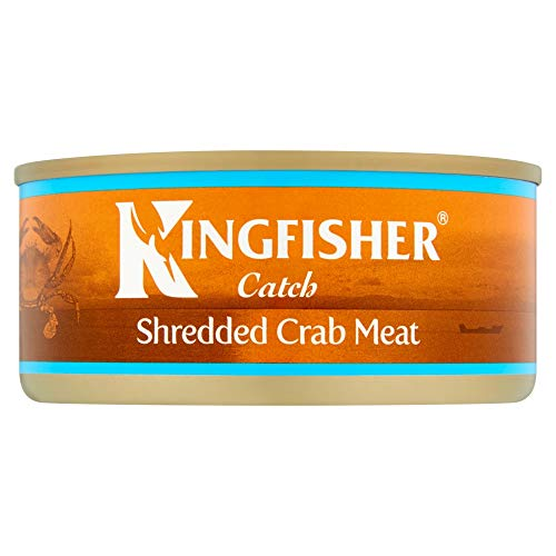 Kingfisher Catch Shredded Crab Meat in Brine, 145g