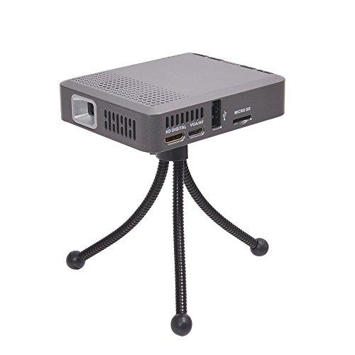 どこでもシアターになるDLP式小型プロジェクター SMHDDLP2 ※日本語マニュアル付き  サンコーレアモノショップ