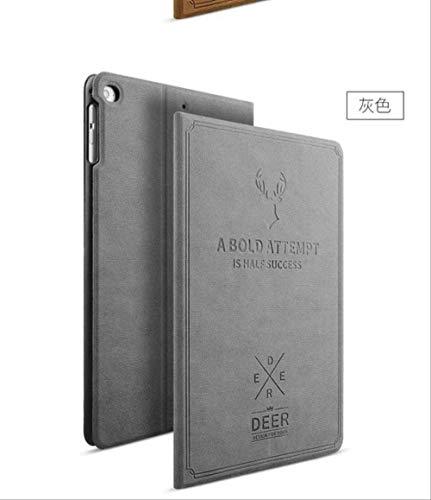 OOOXXX Mode Für Ipad Air 2 Smart Awakening Leder Luxusabdeckung Hirsch Lederjacke Schutz Für Ipad Air 2 Großhandel Grau