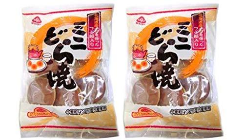 無添加 ミニどら焼(6個入)×2個 ★コンパクト★国産100%原料由来の小麦粉を主原料とした生地(皮)をふっくら焼き上げ、北海道産小豆使用の上品な甘味の餡をはさみ込みました。