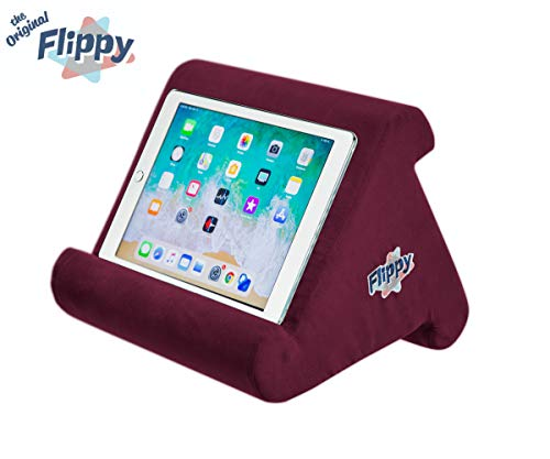 Flippy Multi-Angle Soft Pillow Lap Stand for iPads, Tablets, eReaders, Smartphones, Books, Magazines (Nebiollo)
