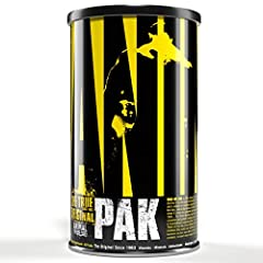 Animal Pak is formulated for elite athletes that are looking to fill in the nutritional gaps they might have in their diet.  Eating clean and counting macros shouldn't mean you neglect the foundational support your body needs. Multivitamin, minerals,...