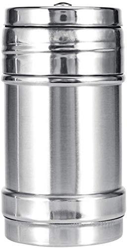 LNDDP 1Pc Acciaio Inossidabile Spezie Zucchero Sale Pepe Erba Shaker Vaso Scatola Utensili da Cucina BBQ Ciotola per Barbecue