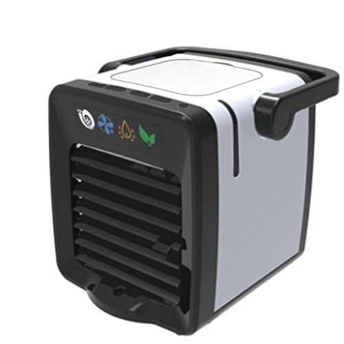 ZEELIY Mini Air Cooler Leakproof LuftküHler Mobile KlimageräTe Klimaanlage Ventilator Cool Air Ventilator, Luftbefeuchter und Luftreiniger für BüRo, Hotel, KüChe leise und kompakt