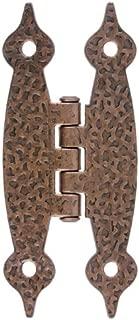 Hammered Antique Copper Hinge - 3 1/2
