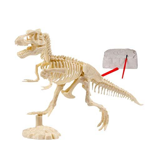 HeiHeiDa Archäologische Ausgrabung Tiermodell Skelett Simulation Dinosaurier Spielzeug Puzzle Montage Kit Dinosaurier Fossil Digging Game Kit Dino Sandbox Activity Set für Kinder