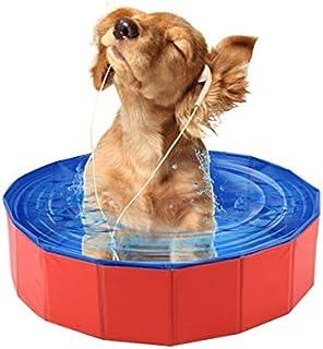 ペット製品 ペット用品 小さな犬と猫テディの折りたたみ式スイミング·プール·バスタブ直径:60cm高さ:20cm 小動物用品