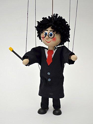 MUBRNO 18123A Zauberer Marionette, Mehrfarbig