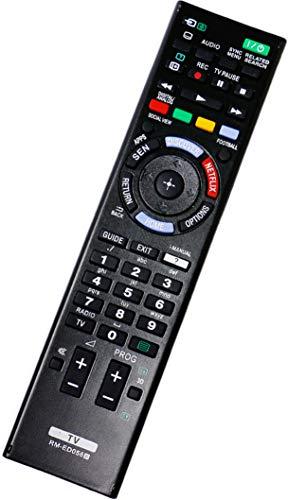 ALLIMITY RM-ED058 Fernbedienung Ersatz für Sony Bravia TV KD-49X8505B KD-55X9005B KD-75S9005B KD-79X9005B KDL-24W605A KDL-32W603A KDL-32W653A KDL-32W654A KDL-32W705B KDL-40HX753