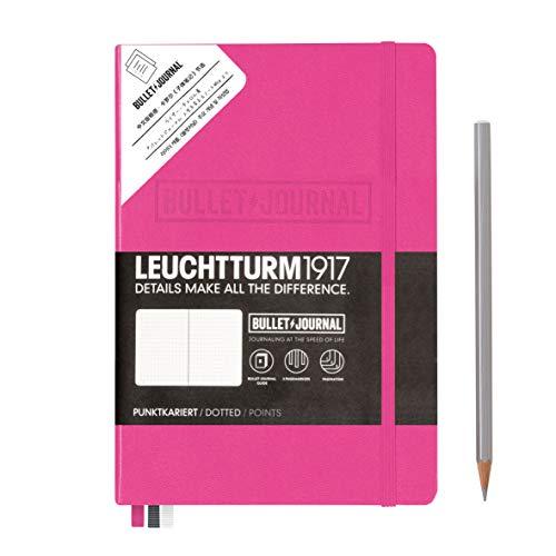 LEUCHTTURM1917 361033 Bullet Journal Format A5 Rose