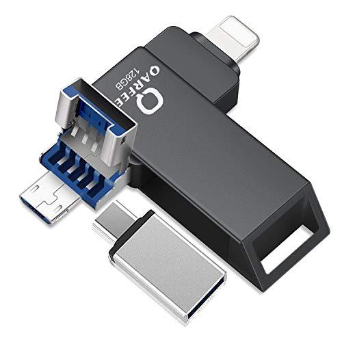 Flash Drive Photo Stick for iPhone USB Flash Drive for iPhone PhotoStick Mobile for iPhone 128GB USB Memory Stick OTG Android Smart Phone Memory Stick Phone Storage