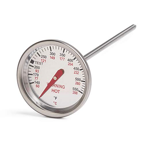 GASPRO Accurate Thermometer for Weber Genesis 1000-5500, Silver and Gold Series Grills, Durable Thermostat Replacement for Weber 62538 9815, Install Easily