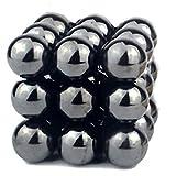 Anzmtosn Fidgets Science Kit Neat Magnets Blocks Hematite Magnetic Stones Polished Magnets Fidget Gadget, Refrigerator Magnet for Home Office Neat Organize -Creativity, Imagination, Inspiration