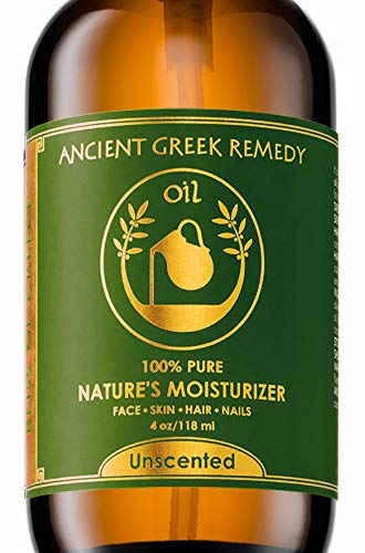 Unscented Organic Blend of Cold Pressed Jojoba, Almond, Olive, Grapeseed, vitamin E, Sunflower, Lavender oil. Best Face Moisturizer for Dry Sensitive Skin. Body and Facial Oils for Men and Women 4oz