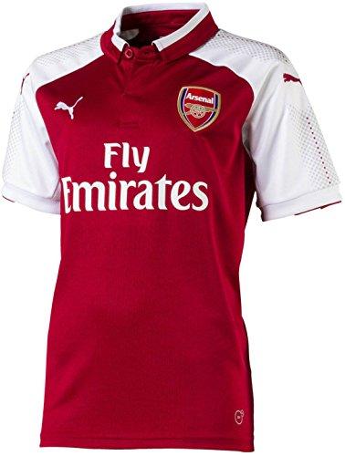 PUMA Arsenal FC Youth Home Jersey 17/18 [Red] (YXL)