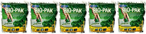 Walex BIO-11530 Bio-Pak Natural Holding Tank Deodorizer and Waste Digester, (Pack of 10) (5 Pack of 10)