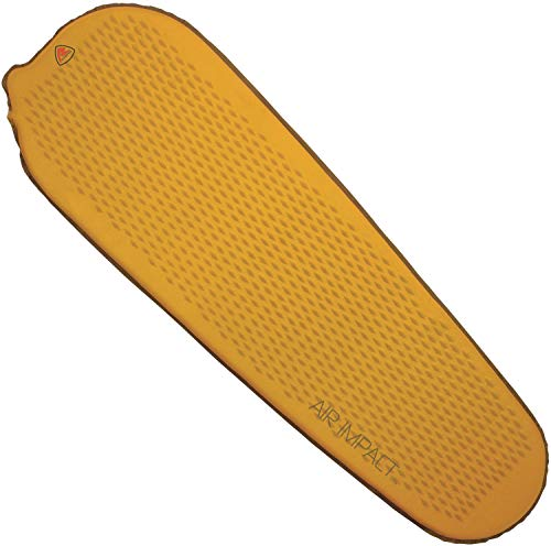 Robens Unisex– Erwachsene Air Impact Isomatte, Orange, 2,5 cm