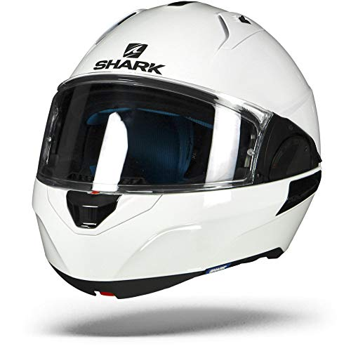 Shark Motorradhelm Hark Evo-One 2 Blank, Weiß, Größe M