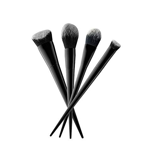 MEIYY Pinceau de maquillage 4Pcs Heart Shape Makeup Brushes Eyeshadow Powder Foundation Contour Brush Cosmetic Professional Makeup Brush