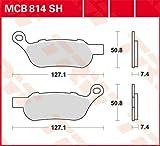 Matériau de revêtement organique, en métal fritté et carbone. Le numéro de KBA sur la plaque arrière garantit l'ABE. Tous les matériaux de revêtement sont exempts de métaux lourds et d'amidon. Les patins ABE ont une longue durée de vie et une excellente résistance au freinage à l'eau. Bonne compatibilité avec les disques de frein d'origine ou TRW-Lucas. Les pièces de fixation d'origine ou les accessoires tels que les tôles etc. peuvent être réutilisés. Sélection de la qualité du revêtement : veuillez lire la description ci-dessus.