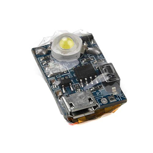 DASNTERED Blitz-Stroboskoplicht für DJ-I Funken, LED-Nachtfluglichter, LED-Drohnen-Ersatz-Sicherheitslicht, LED-Positionslicht, wiederaufladbares Notfall-Warnlicht