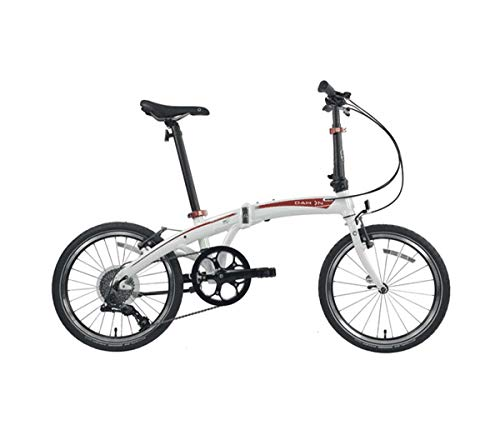 "Dahon MU D9 White 20"" Folding Bike Bicycle"