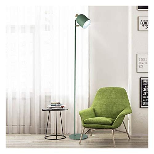 Vloerlamp groene verticale decoratie tafellamp eenvoudige hotel woonkamer slaapkamer nachtkastje leeslamp