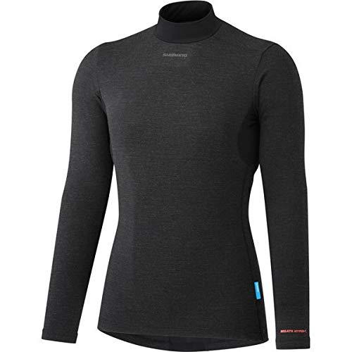 SHIMANO Camiseta Interior SH W Transpir Neg W.L, Mujer, Negro, L