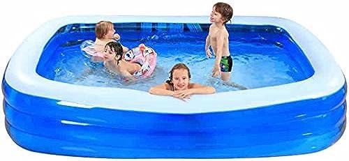 MLMHLMR Kinder aufblasbare Pool Familie Extra Größe Marine Ball Pool Faltwanne