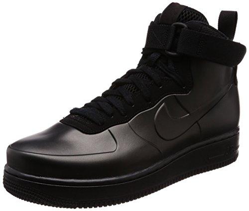 Nike Air Force 1 Foamposite Cup Mens Hi Top Trainers AH6771 Sneakers Shoes (UK 10.5 US 11.5 EU 45.5, Black Black Black 001)