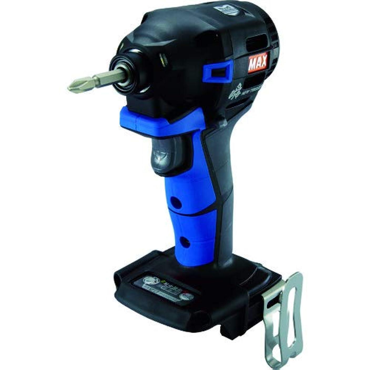 報奨金ギャラリー押すマックス(MAX) MAX 充電式ブラシレスインパクトドライバ(青)本体のみ PJ-ID152B (PJ91190)