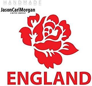JasonCarlMorgan JCMÂ Iron On Transfer Decal, Engeland Rugby Rose Rood