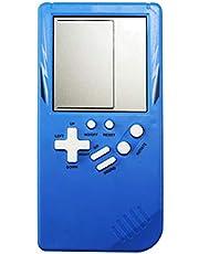 ABCDJHH Tetris gamekonsol, bärbar handhållen spelkonsol elektroniska spel för barn klassiska intellektuella leksaker handhållna bärbara spel pedagogiska leksaker för barn