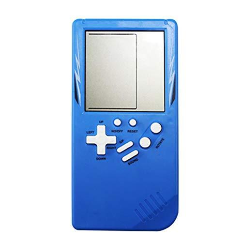 TiKiNi Consola De Juegos Portátil Tetris Retro, Juguete Educativo Clásico Portátil Juegos...
