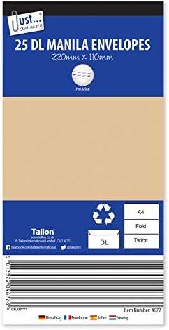 Tallon Just Stationery C4/Peel /& Seal Briefumschl/äge wei/ß/ / 15/St/ück