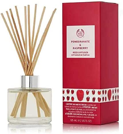 The Body Shop Pomegranate Raspberry Reed Diffuser 125ml 4 2oz product image