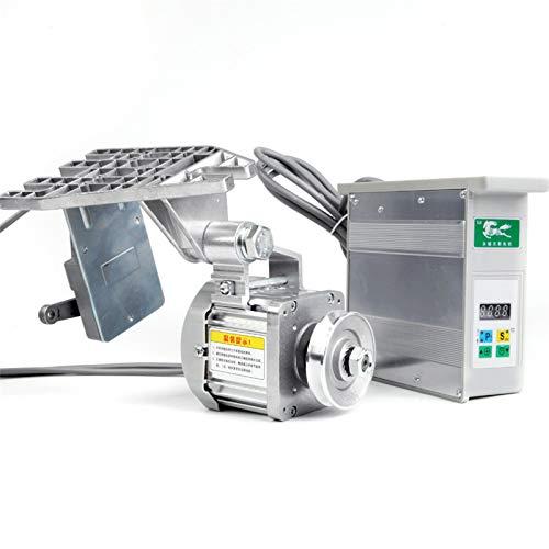 Wangkangyi Servomotor eléctrico sin escobillas, 220 V, motor sin escobillas para máquina de coser industrial, motor de corriente continua (650 W)