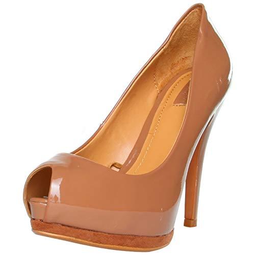 Zara 2158_101_MAQUILLAJE Damenschuhe Schuhe Pumps High Heels, Peep Toes